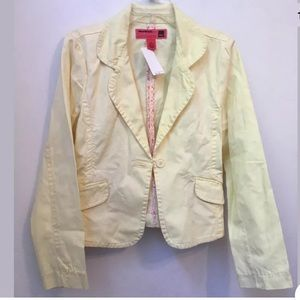 NWT MOSSISSUE C32 womens xl yellow jac…